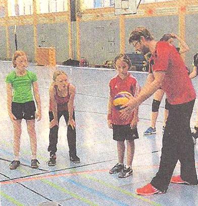 TSV Volleyball startet Nachwuchsarbeit