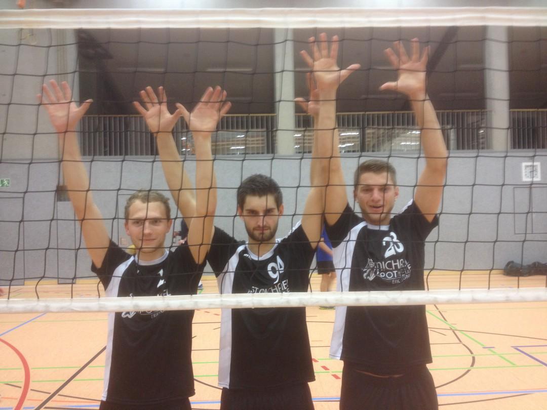 Gelungene Heimpremiere für Krumbachs Volleyballteams
